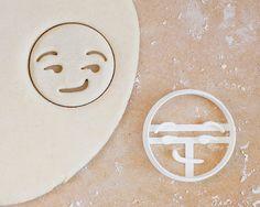 Smirking Emoji Cookie Cutter  Sexual Iphone Flirting by RochaixCo