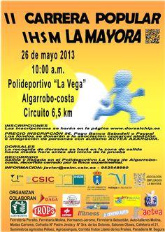 II Carrera Popular IHSM La Mayora de Algarrobo (domingo 26 de Mayo de 2013).
