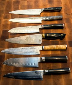 Kick-ass chef's knives