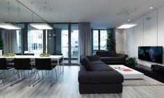 Apartmán s dvoma obytnými jednotkami, Eurovea | RULES Architekti