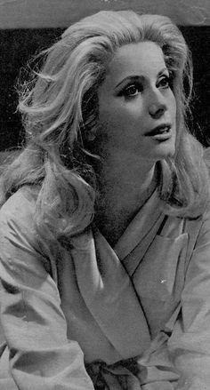 Catherine Deneuve on the set of Belle de Jour (1967)