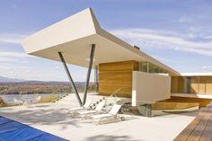 Casa en el Monte Merino, Hudson, EEUU.   Joel Sanders Arquitecto
