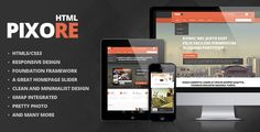 Pixore - Responsive Multi-Purpose HTML5 Template