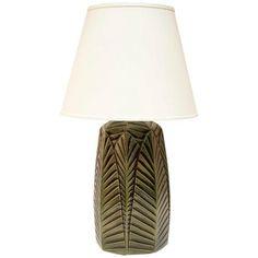 Haeger Potteries Palm Grove Ceramic Table Lamp | LampsPlus.com