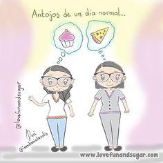 ••• 🎨 Antojos de un día normal... | #ilustraciones_de_iamdanielasolis 🍰🍦🍫🍧🍪🍕🍔🍟 ••• ✏ ilustrado por Dani ( @iamdanielasolis ). ••• Link-> http://www.lovefunandsugar.com/2016/10/antojos-de-un-dia-normal.html ••• #lovefunandsugar #iamdanielasolis #antojos #pizza #cupcake #cake #ponque #ponquecito #cravings