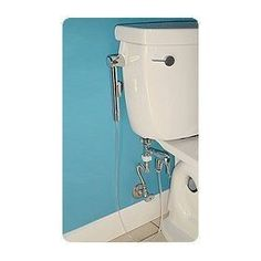 Mini Shower Diaper Sprayer 8.Great alternative to dunking diapers in the toilet.   #clothdiapers #nopins.