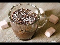 Como hacer un Cake de Chocolate en 5 minutos en el microondas