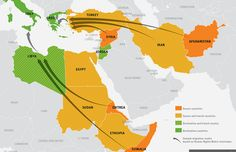 Maps and graphs explaining the global refugee crisis