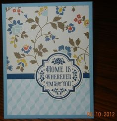 Forever With You Stamp Set, Comfort Cafe DSP