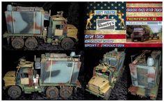 Shorty-Production: Oshkosh Mk23 Mk25 MTVR Truck
