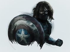 Winter Soldier - Followers of my Avengers boards, if you have not seen Captain America yet, please look another way. Here be spoilers.