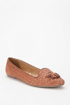 tan tassel loafer $29