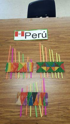 The Globe Academy Zampona tradtional wind instrument Peru Around The World Crafts For Kids, Around The World Theme, Art For Kids, Summer Camp Activities, Activities For Kids, Projects For Kids, Art Projects, Multicultural Activities, International Craft