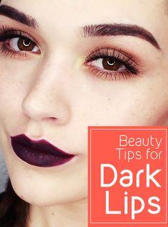 Beauty Tips for Dark Lips