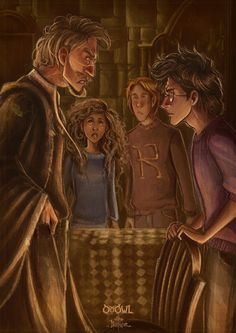 The fight between Remus and Harry, too emotional Classe Harry Potter, Arte Do Harry Potter, Harry Potter Artwork, Images Harry Potter, Harry Potter Drawings, Harry James Potter, Harry Potter Books, Harry Potter Fan Art, Harry Potter Universal