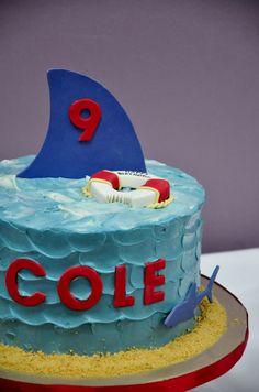 shark cake - Google Search