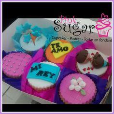 Cupcakes enamorados