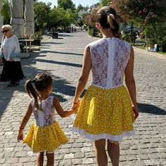 Mather daughter matching dress by AllbyOly