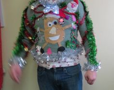 Don we now our Ugly Christmas Sweater. from rummages sales to grandmas closet, we search out the best in the Tackiest Christmas apparel.