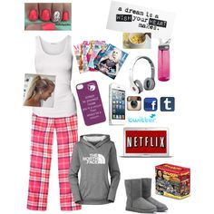 sick day by ashousman on Polyvore featuring American Vintage, Jack Wills, The North Face, UGG Australia, CamelBak and Beats by Dr. Dre