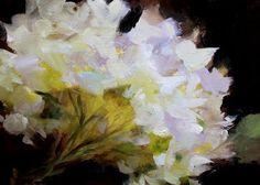 white flowers paintings - Google-søgning