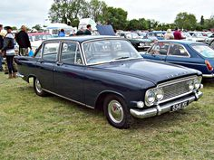 1960'S Ford Zodiac MK3 - the first car of my dad's I remember.