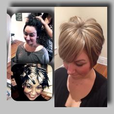 Color correction pros at Raw Hair Studio ! Before and afters!