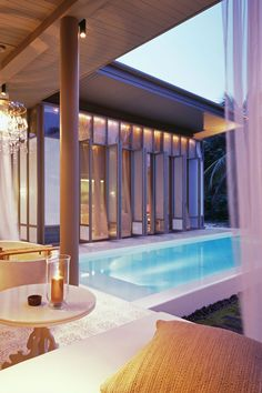 The resort features private swimming pools in 63 out of 79 pool villas and suites. #Jetsetter