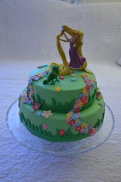 Un gâteau Raiponce |