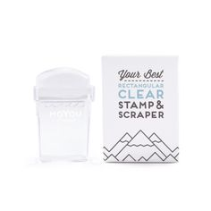 MoYouLondon- Rectangular Clear Stamper
