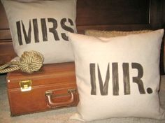 pillows  Visit & Like our Facebook page: https://www.facebook.com/pages/Rustic-Farmhouse-Decor