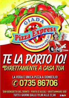 Pizza Express - La pizza dove vuoi tu!!