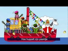 Zie Ginds Komt de Stoomboot (Filmpje) - Filmpjes kijken op Minipret.nl