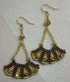 Kelly from Off the Beaded Path, in Forest City, North Carolina brings you a another great project. Kelly shows you how to make a beautiful pair of earrings. ...