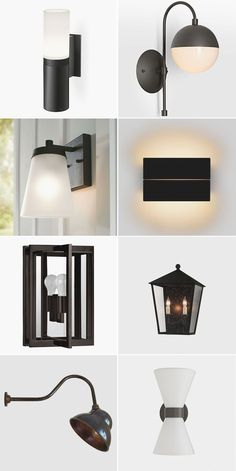 Illuminate Your Patio With These Chic Black Outdoor Sconces! 24 sources for outdoor lighting for the deck, patio, front porch, or back door! Outdoor Wall Lantern, Outdoor Wall Sconce, Outdoor Walls, Outdoor Dining, Outdoor Lighting, Outdoor Decor, Bathroom Sconces, Wall Sconces, Interior Design Inspiration