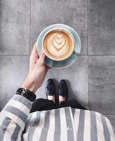 Beautiful latte art!