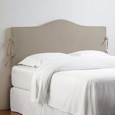 Lark Manor Angeline Slipcover Upholstered Panel Headboard Upholstery: Klein Midnight, Size: Full