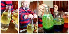 Make a lava lamp experiment!