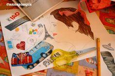 A casa di Anna: Sguardi - tra illustrazione e fotografia. Ecco uno dei lavori di Lara.
