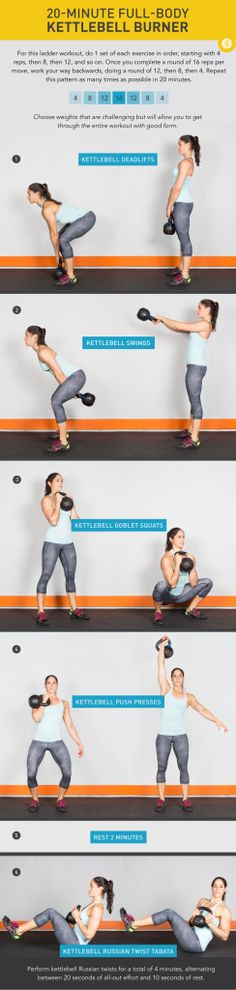 She's Wicked Healthy Workout Wednesday: 3 Total Body Kettlebell Workouts to Try!