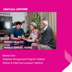 With our LifeCare atHOME services, your loved ones will get a careful management care right at the comfort of your home.