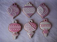 Dekorácie - medovník vianočná guľa - 4590607_