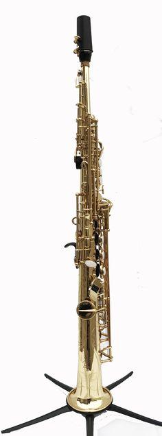 Kenny G ES-Series - Straight Bb Soprano Saxophone Lacquered Body & Keys