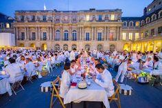 Diner en Blanc, Paris 2015