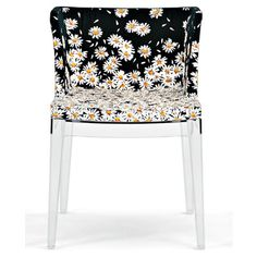 The stylish Mademoiselle Printed Chair and plenty of Kartell seating and furniture, all available at Smart Furniture.