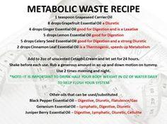 Metabolic Waste Recipe