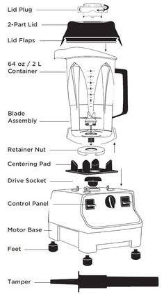 Pressure cookers have features particular of their categories. Rice cookers have single inside containers while regular cookers includes multi deck containers. Another differentiating feature of rice cookers is fairly thinner construction. Vitamix Blender, Vitamix Recipes, Blender Recipes, Smoothie Recipes, Ninja Blender, Juice Recipes, Vitamix Juice, Jelly Recipes, Yogurt Recipes