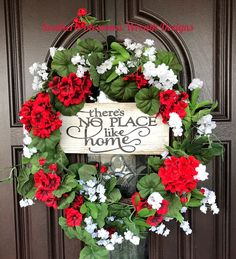 Wreaths For Front Door, Door Wreaths, Grapevine Wreath, Front Doors, Wreath Making Supplies, Summer Wreath, Spring Wreaths, Easter Wreaths, Christmas Wreaths