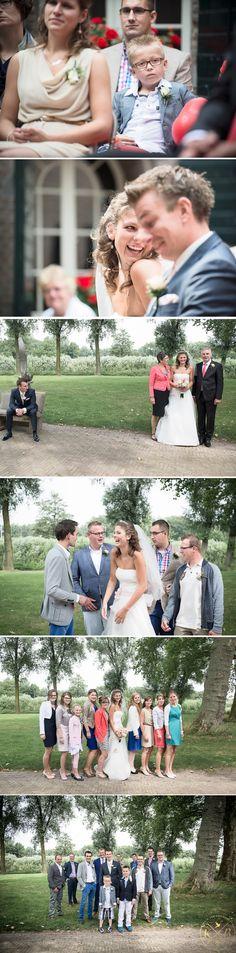 Weddingphotography Christian en Marjolein, Fort Altena en Woudrichem, The Netherlands. By www.kimvandenbroek.nl