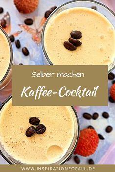 Nach diesem Rezept kannst du den leckeren alkoholischen Kaffee Cocktail selber machen. Er ist ideal für eine Party und schmeckt besonders im Winter köstlich. #cocktail #rezept